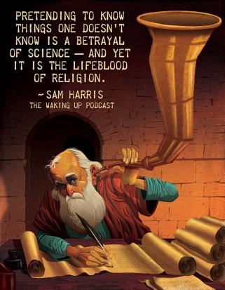 sam harris religion quote