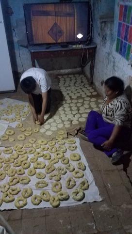 Baking a frigg ton of bread